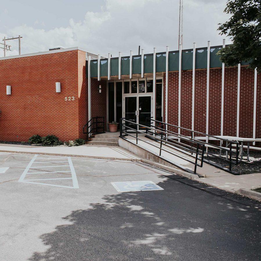 Front Door of Chamber Building